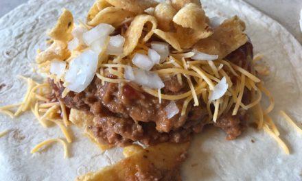 Chili Cheese Frito Burrito
