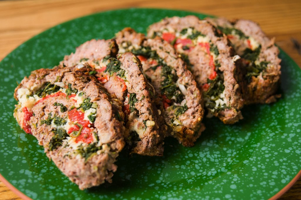 Meatloaf Rolled with Greens
