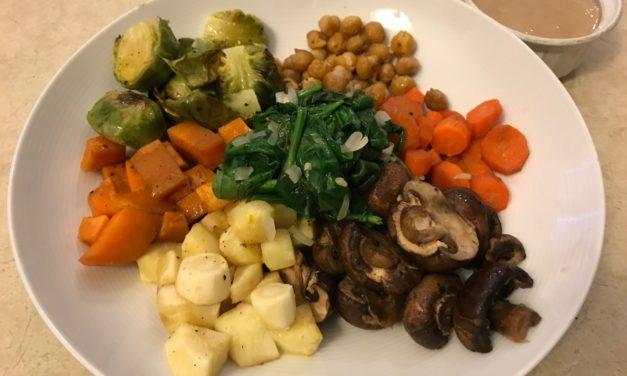 Root Vegetable Power Bowl