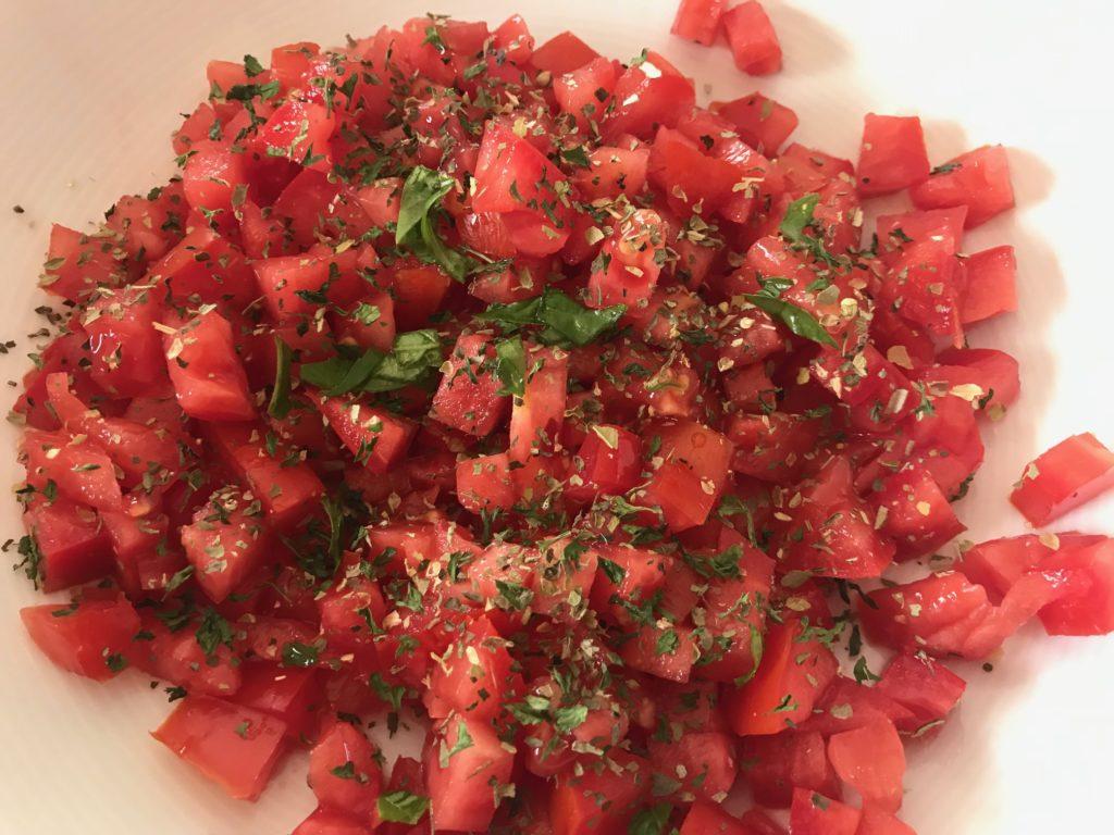 Tomato Cream Sauce Pasta