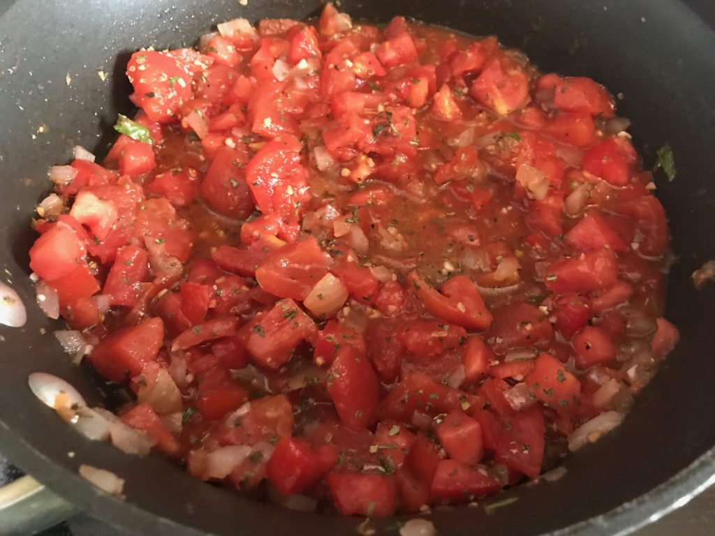 cooking tomatoes