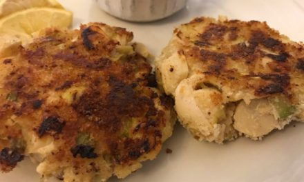 Heart of Palm and Artichoke Cakes