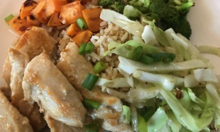 Fall Veggie Rice Bowl