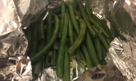 Green Bean Foil Packet