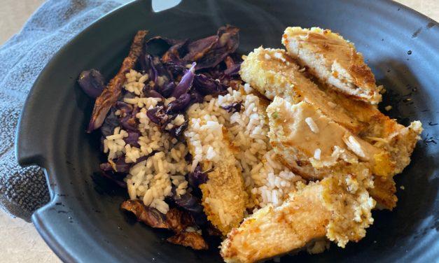 Honey Garlic Chicken and Rice