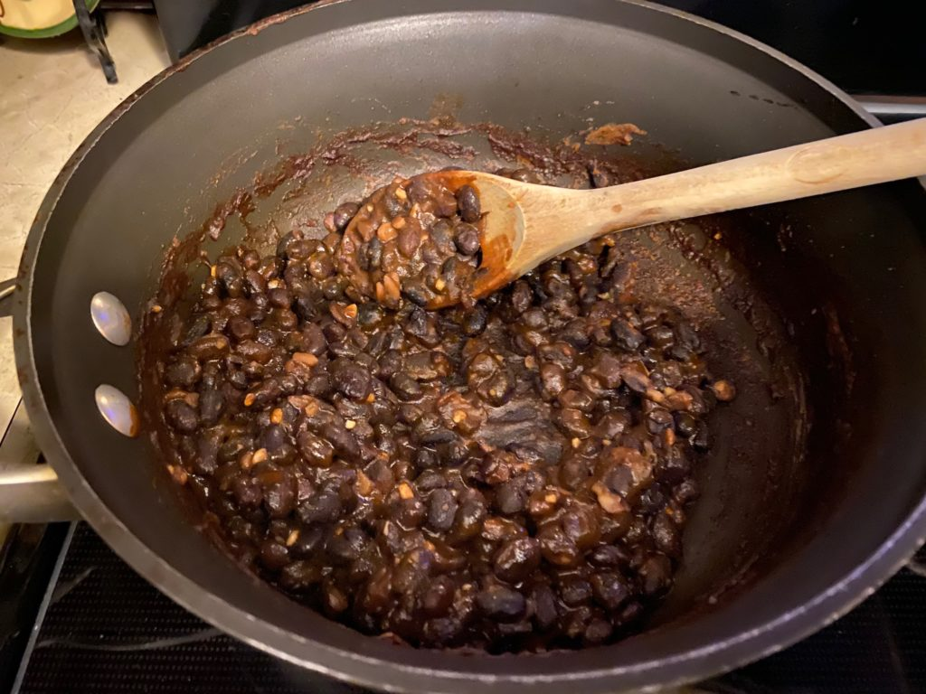 cooking black beans