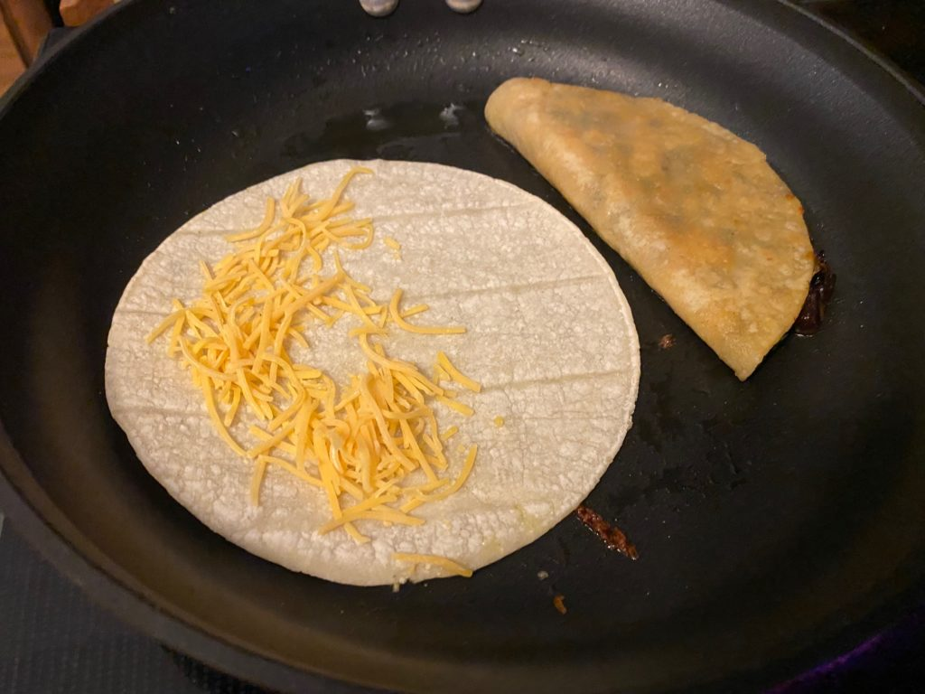 cheese on tacos