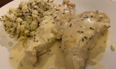 Chicken In White Wine Sauce