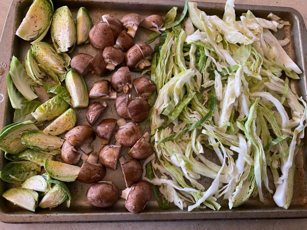 veggies for roasting