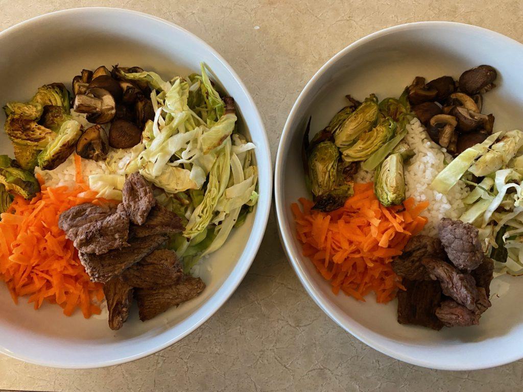 2 Korean Rice Bowl