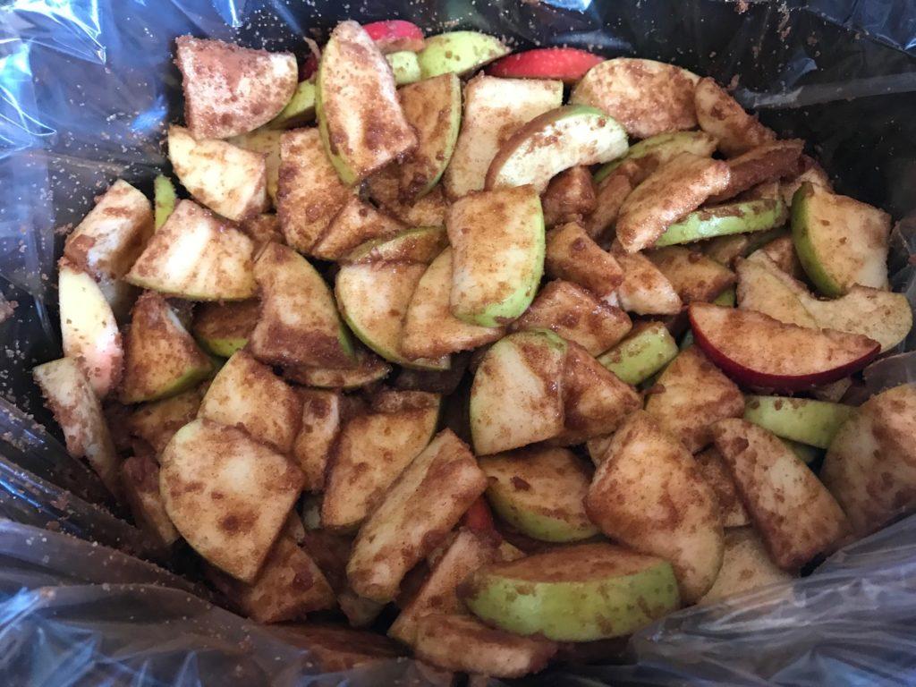 apples with seasoning