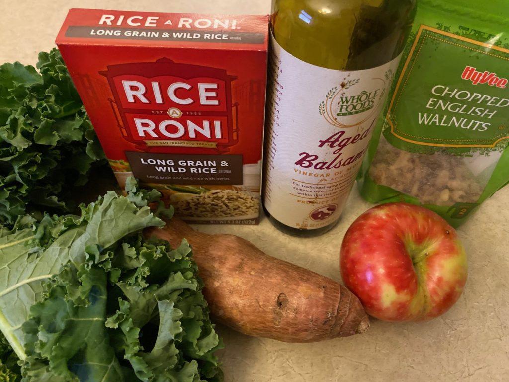 ingredients for Harvest Bowl