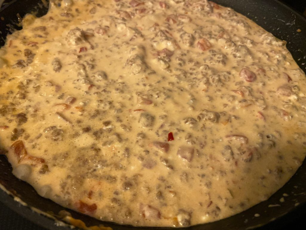 Pimento Cheese Sausage Dip