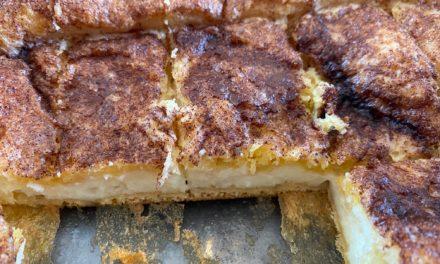 Cinnamon Cream Cheese Bars