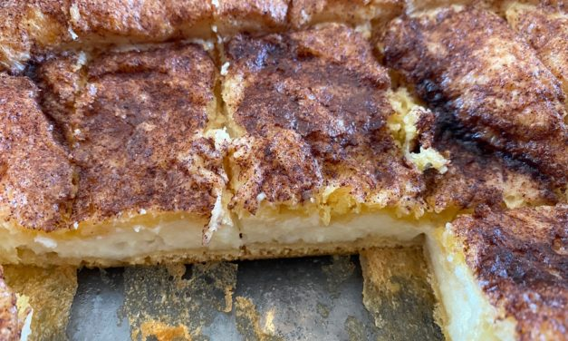 Cinnamon Cream Cheese Bars