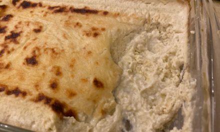 Artichoke Garlic Parmesan Dip
