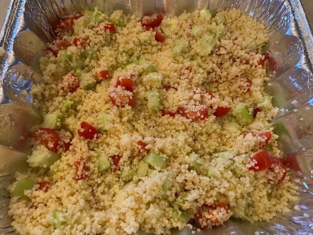 lemon couscous salad