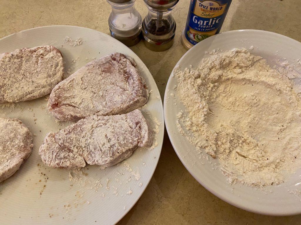 flour chops