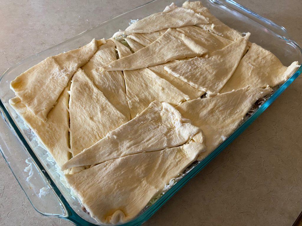 bierock casserole with dough